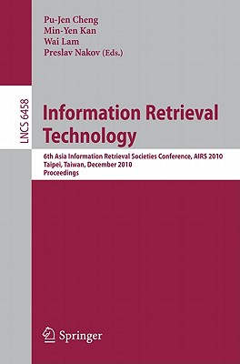 Information Retrieval Technology By Cheng, Pu-jen (EDT)